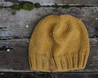 Honey Knit Slouch Beanie