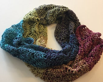 Scarf, crochet, handmade