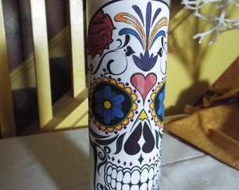 Day of the dead 7 day novena candle