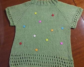 Green apple knit Bimbo 6/8 A