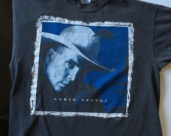 Garth Brooks T Shirt Rare Country Western Music Fresh Horses XXL