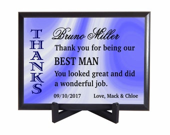 Best Man / Groomsman Gift,Thank you Gift to Best Man from Couple, Custom Wedding Favors,Bridal Entourage Gifts ,Appreciation Gifts,PHW005