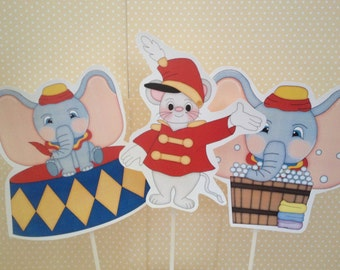 Dumbo Party Centerpiece - Set of 3