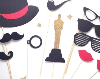 Photo booth props - hollywood party - new years - great gatsby - red carpet party - birthday
