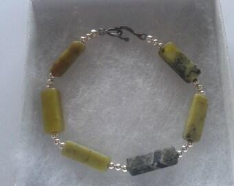 Olive Jade Bracelet
