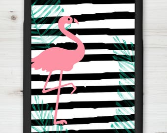 Flamingo | iPhone Case |  | iPhone 7+ Case | iPhone 6/6s Case | Galaxy Case | Printed Cell Phone Case | Custom Cell Phone Case
