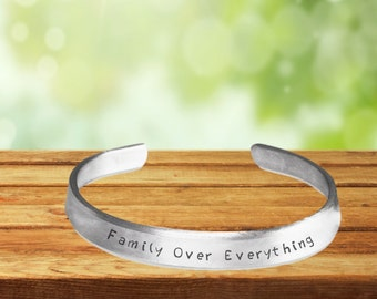 Family Over Everything Bracelet