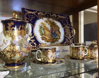 Limoges 10 Piece Tea Set