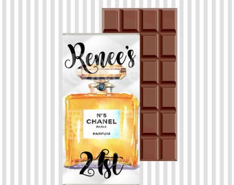 Chanel Art Chocolate Wrapper