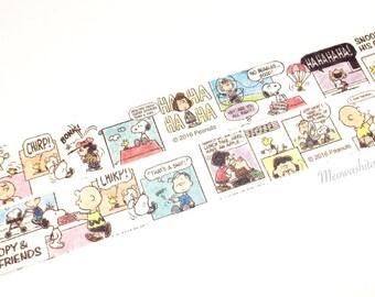 CUTE MODEL - Snoopy comics washi tape (B0032)