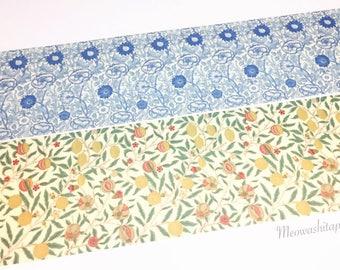 SAMPLE!! Kamoi mt x William Morris washi tape sample set (100cm for each design)(TS0038)