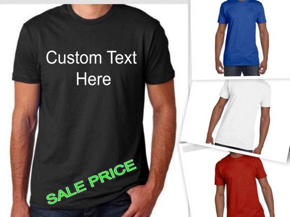 Items Similar To Custom T Shirt Personalized T Shirt