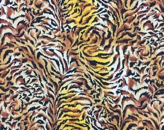 Tiger Skin Fabric Length