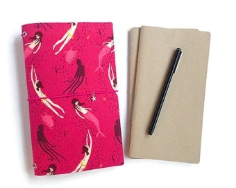 Fauxdori Set: Pen, Dori, Two Travelers Notebook Inserts. Gifts for Her. Gifts Under 50. Rifle Paper Co. Rifle Paper. MAE