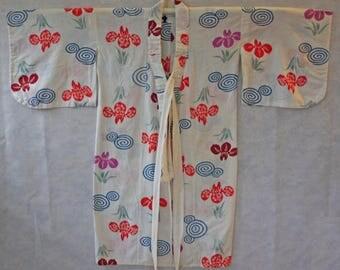 Vintage Japanese Childs Cotton Kimono