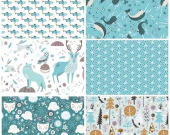 Snowfall Fat Quarter Bundle - 6 prints