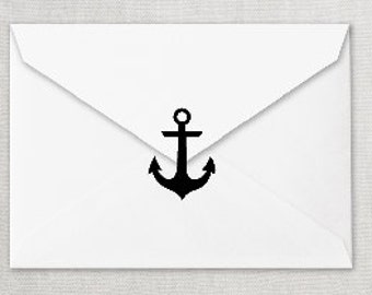 Any Color Anchor Decal, Anchor Envelope Seal, Anchor Invitation Seal, Anchor Invitation Sticker,