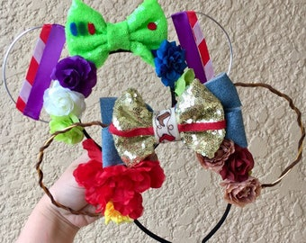 Buzz and Woody Ears | Toy Story Ears | Sheriff Woody | Buzz Lighttyear | Wire Ears | Mouse Ears