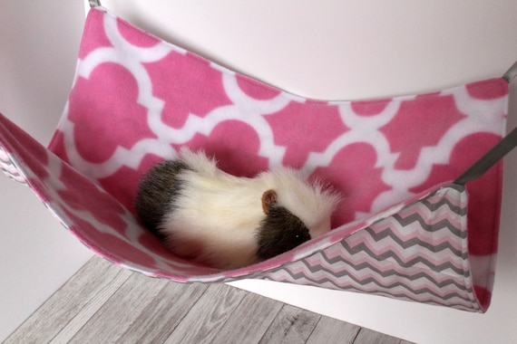 how to make a guinea pig hammock