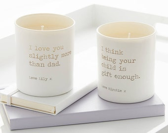 Personalised Glow Through Cheeky Candle, Candle, Scented Candle, Engraved candle, Gift for home, Wedding gift, Engagement gift, Gifts.