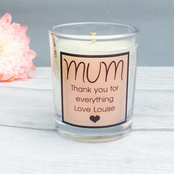 Gift for Mum Mothers Day Gift Mothers Day Candle Gift for
