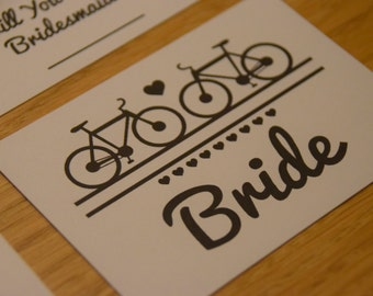 Bicycle Placecard A7