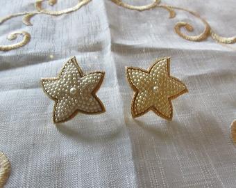 STARFISH PEARL EARRINGS
