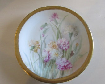 ANTIQUE HAND PAINTED Plate
