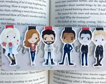 Zombie Girl Bookmarks