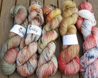Kit for So Faded Sweater by Andrea Mowry - Red Rage