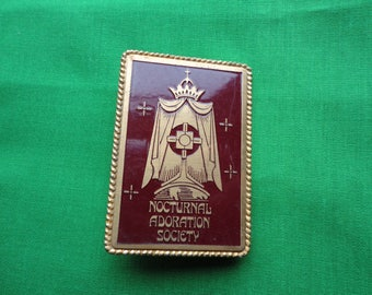 Nocturnal Adoration Society Pin