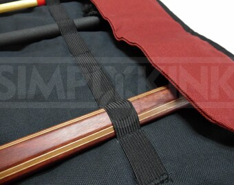 BDSM Cane Traveler Bag for Spanking Canes and BDSM Toys