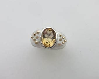 "Ring ""Perles d'OR"""