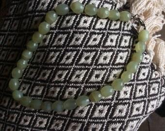 Beautiful Jade Bead necklace - Beauty in Simplicity