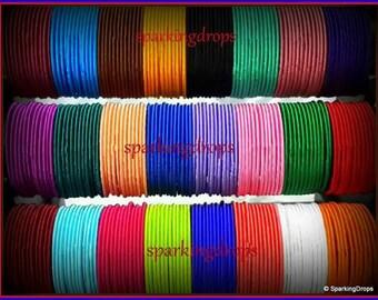 High quality silk thread bangles