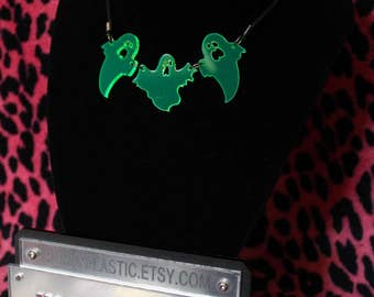 Ghosts necklace