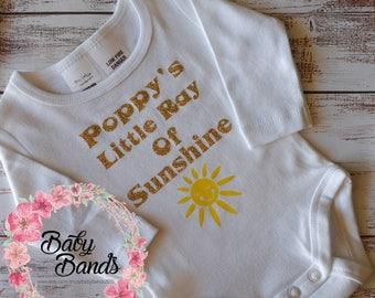 Poppy's little ray of sunshine! top/romper