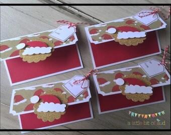 Christmas Gift Card Holder, Christmas Stocking Stuffers, Christmas Gifts For Teachers, Holiday Gift Card Holders, Gift Card Holders