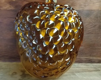 Amber Grape Bowl from Indiana Glass