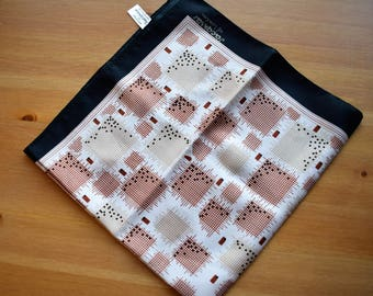 Vintage Jacqmar square printed scarf