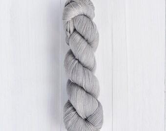 Hand Dyed Silky Merino Lace yarn - Abu