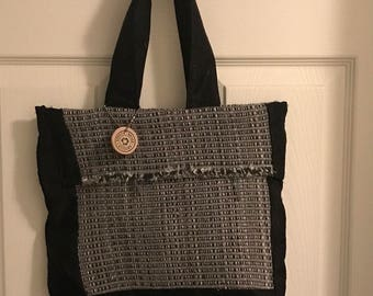Upcycled Hobo Bag