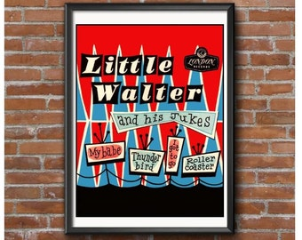 Little Walter Blues Poster