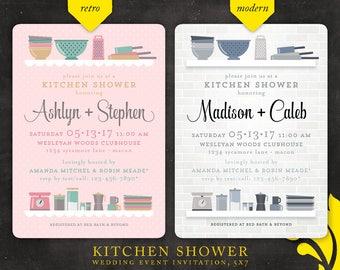 KITCHEN . shower invitation