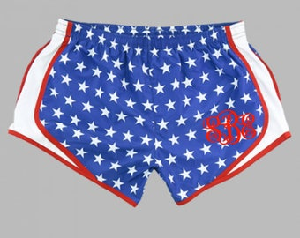 Flag Running Tights - New Item! These Stars and Stripes running tights were designed with our outstanding lycra prints for the runner who wants more than a basic one color tight with all the features and support of performance smileqbl.gq by popular demand!