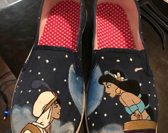 Jasmine and Aladdin Shoes