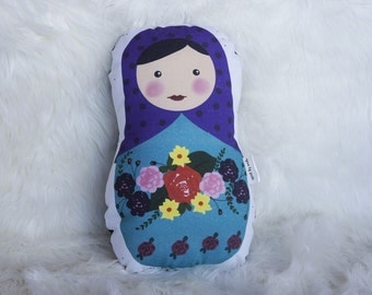 Nesting Doll Pillow (Matryoshka)