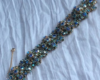 Unsigned beauty - bracelet - matches necklace and earrings listed