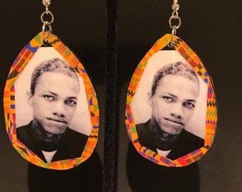 Young Malcolm X Earrings
