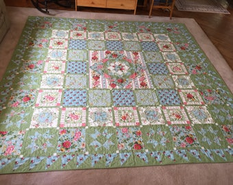 "King/Queen ""Charlotte"" quilt"